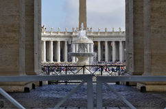 St. Peter's Square, Vatican City Stock Photos