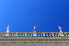 St. Peter's square in Vatican City Stock Photos