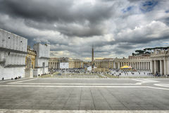 St. Peter's Square - Vatican Royalty Free Stock Photography