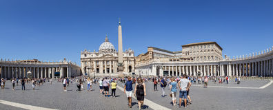 St Peter s Square stock photos