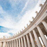 St Peter's Square in Vatican. Rome. Royalty Free Stock Image