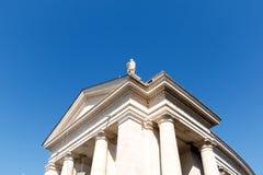 St Peter ` s Vierkant, de Stad van Vatikaan, Rome, Italië stock foto's