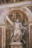 St. Peter Sculptur - Vatican, Italy Stock Photos