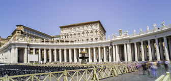 St. Peter Squar, Vatican Stock Photo