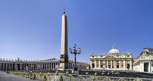 St. Peter Squar, Vatican, Rome Royalty Free Stock Images