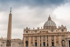 St Peter Square architecture, Rome Royalty Free Stock Images