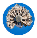 St.Peter square and Cathedral in Vatican Royalty Free Stock Photography