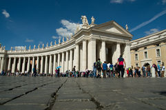St. Peter square Royalty Free Stock Image