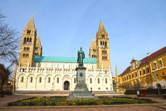 St Peter and St Paul Baisilica, Pecs, Hungary Stock Image