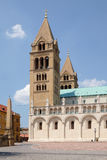 St. Peter and St. Paul Basilica in Pecs Hungary Royalty Free Stock Image