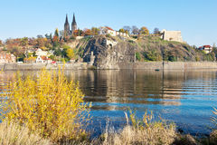 St. Peter and St. Paul cathedral, Vysehrad (UNESCO), Prague, Cze Stock Photography