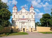 St. Peter and St. Paul Church. Vilnius Lithuania Stock Photography