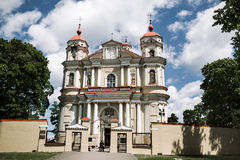 St. Peter and St. Paul Church in Vilnius, Lithuania Royalty Free Stock Images