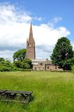 St Peter and St Paul Church, Weobley. Stock Images
