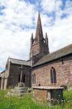 St Peter and St Paul Church, Weobley. Royalty Free Stock Images