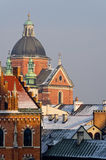 St. Peter and St. Paul's church in Cracow, Poland Stock Images