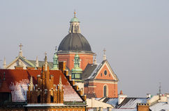 St. Peter and St. Paul's church in Cracow, Poland Stock Photos