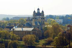 St Peter and St Paul's church in Vilnius Royalty Free Stock Photography