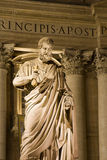 St. Peter - statue in Vatican Stock Image