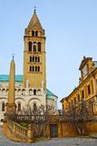 St Peter und St Paul Baisilica, Pecs, Ungarn Stockbild