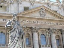 St Peter in Vatikan Stockbild