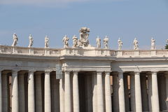 St Peter in Vatikan stockbilder