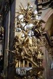 St Peter & x27; chiesa di s & x28; Peterskirche& x29; a Vienna Fotografia Stock Libera da Diritti