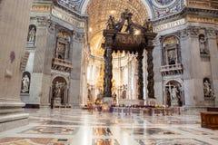 St. Peter& x27;s Basilica - Vatican City, Rome, Italy Stock Image