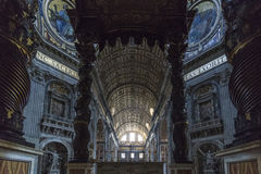 St Peter & x27; s-basilika Royaltyfri Fotografi