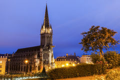 St Peter's Church in Caen Stock Photography