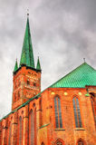 St. Peter's Church in Lubeck - Germany Stock Photo