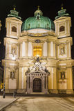 St. Peter's Church (Peterskirche) in Vienna, Austria. Stock Photos