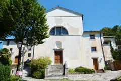 St. Peter's Convent in Asolo, Italy Stock Image