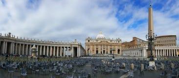 St Peter' s Vierkant Royalty-vrije Stock Foto
