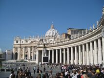 St. Peter's Basilica in Vatican City Stock Image