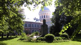 St-peterburg. The most wonderful place at St-peterburg is Hermitage royalty free stock photo