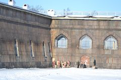 Bastion of Peter and Paul Fortress Royalty Free Stock Image