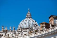 ST Peters στη Ρώμη Στοκ εικόνες με δικαίωμα ελεύθερης χρήσης