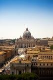 ST Peters στη Ρώμη Στοκ Εικόνες