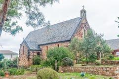 St Peters Anglican Church nella baia di Plettenberg fotografia stock