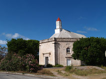 St. Peters Anglican Church in Parham Town Antigua. Barbuda in the Caribbean Lesser Antilles West Indies Royalty Free Stock Image