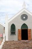 St Peters Anglican Church, St George's, Bermuda Royalty Free Stock Photography