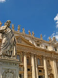 St. Peters Basilica 01 royalty free stock image