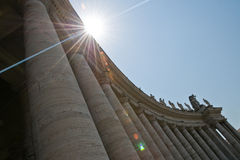 St. peters basilica Stock Image