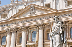 St. peters basilica Royalty Free Stock Photos