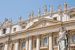 St. peters basilica Royalty Free Stock Photography