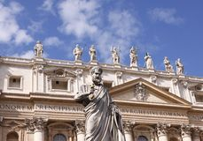 St Peters Basilica Stock Images