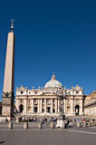 St. Peters Basilica Stock Photos