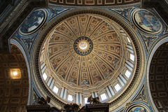 St. Peters Basilica Stock Foto's