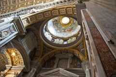 St. Peters Basilica Dome Stock Images